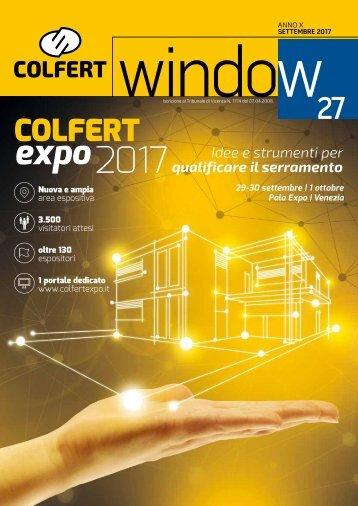 COLFERTwindow 27 - SETTEMBRE 2017