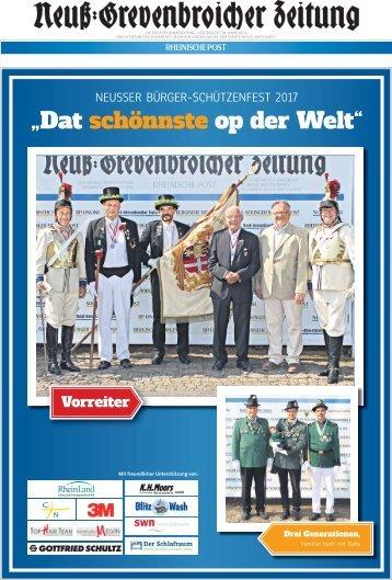 Neusser Bürger-Schützenfest 2017 - Wir waren dabei!  -ET 29.08.2017-