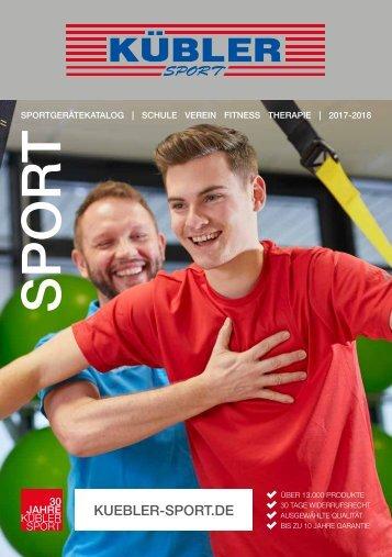Hauptkatalog 2017-18 Kübler Sport