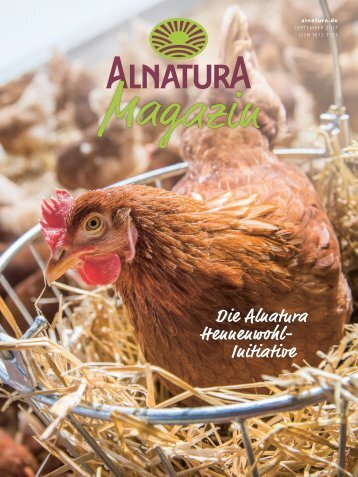 Alnatura Magazin - September 2017