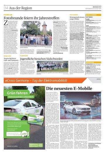 eCross Germany - Tag der Elektromobilität  -ET 30.08.2017-
