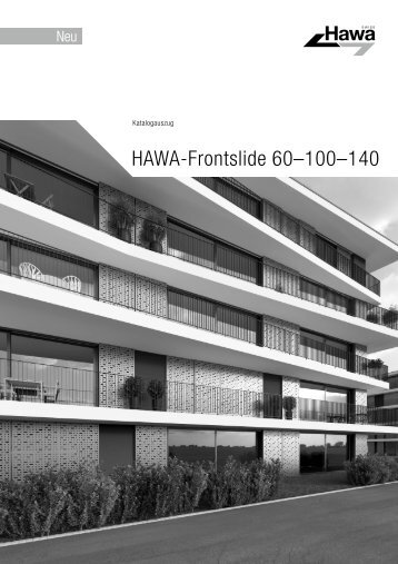 HAWA Frontslide 60-100-140