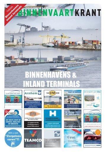 2016-20-Binnenhavens - Inland terminals