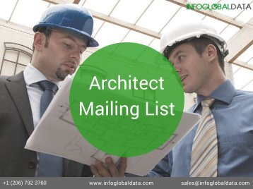 Architect Email List