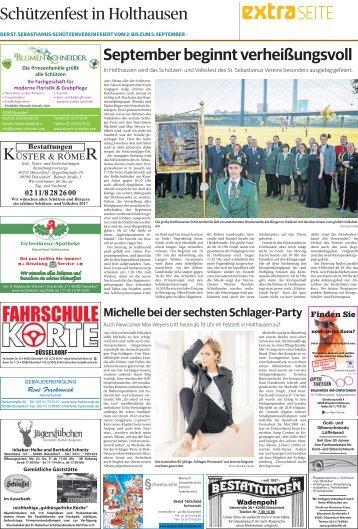 Schützenfest in Holthausen  -01.09.2017-