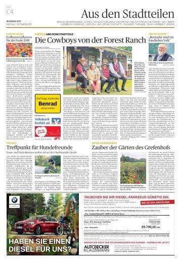 Stadtteilserie - Fünf Dinge, die Sie über Benrad wissen sollten  -01.09.2017-