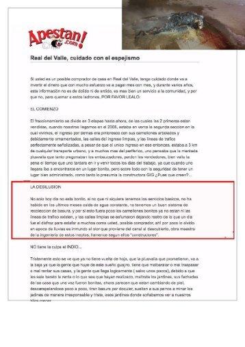 Vecinos de La Moraleja en Guadalajara Jalisco Mandan Mensajes Similares a los Empleados por los Miembros del Narcotráfico para Repeler a quienes Entran al Fraccionamiento Desarrollado por GIG como Por su Casa