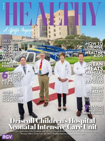Healthy RGV Issue 106 - Driscoll Children's Hospital Neonatal Intensive Care Unit