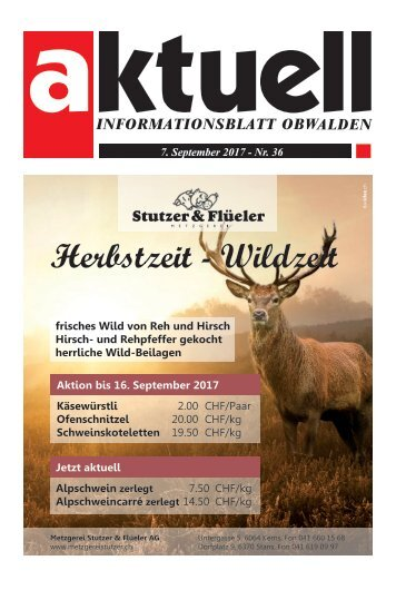 Aktuell Obwalden 36-2017