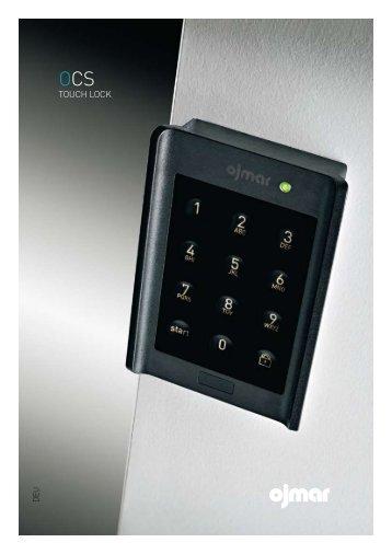 Ojmar OCS Touch Lock