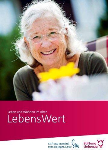 Stiftung Liebenau Broschüre LebensWert 2017