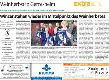 Weinherbst in Gerresheim  07.09.2017-