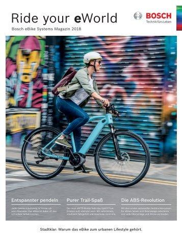 Bosch eBike Systems Magazin 2018