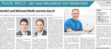 Molls - der neue Messdienst vom Niederrhein  -09.09.2017-