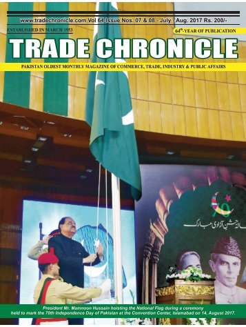 Trade Chronicle July - August Issue 2017