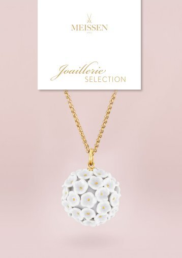 MEISSEN Joaillerie Selection - english