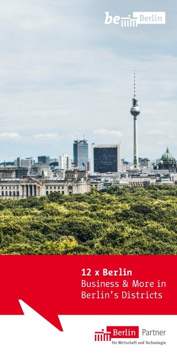 12 x Berlin - Business & More in Berlin's Districts