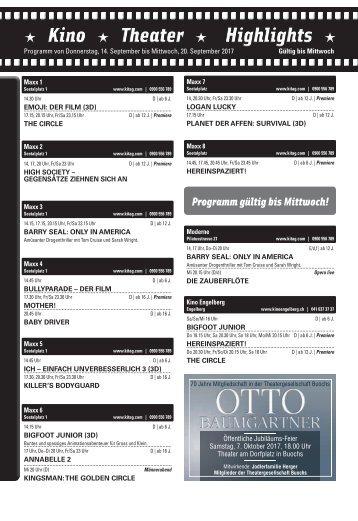 Kino KW37 / 14.09.17