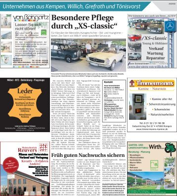 Unternehmen aus Kempen, Willich, Grefrath und Tönisvorst  -13.09.2017-