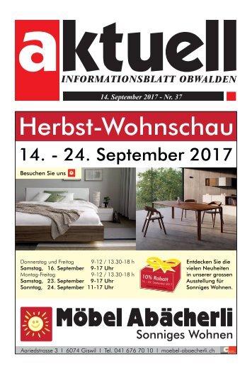Aktuell Obwalden 37-2017