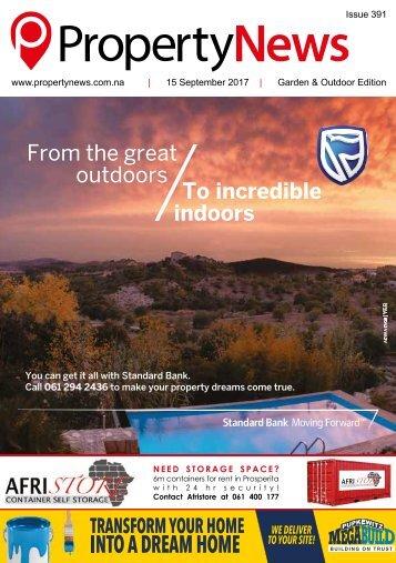 Property News Magazine - Edition 391 - 15 September 2017