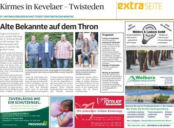 Kirmes in Kevelaer-Twisteden  -14.09.2017-