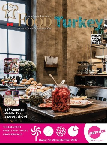 Food Turkey Magazine September 2017