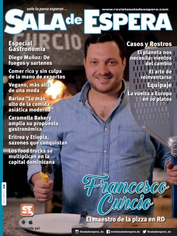 Revista Sala de Espera Nro. 48 Especial de Gastronomìa Septiembre 2017