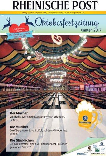 Oktoberfestzeitung Xanten 2017  -15.09.2017-