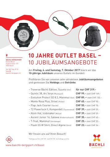 10 Jahre Basel Outlet