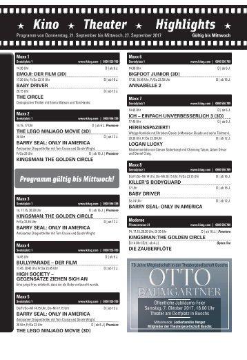 Kino KW38 / 21.09.17