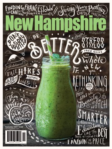 New Hampshire Magazine September 2017