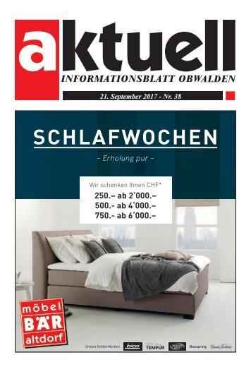 Aktuell Obwalden 38-2017