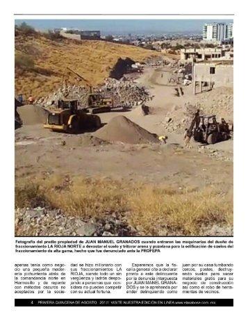 Ya Es Asunto de PROFEPA los Rellenos Sanitarios Apestosos de La Rioja Residencial
