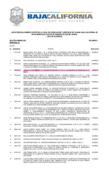 Denuncia Laboral vs Decamar Inmobiliaria - Gig Desarrollos Inmobiliarios Ante Junta de Conciliacion y Arbitraje - Violencia Laboral - Despido Injustificado