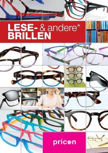 Lese-und andere Brillen 2017