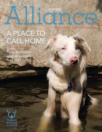 The Alliance Magazine Fall 2017