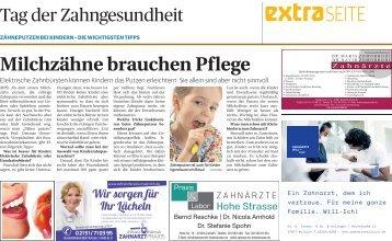 Tag der Zahngesundheit 25.09.2017 Krefeld Viersen