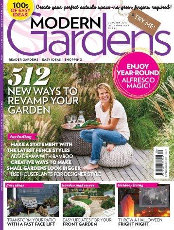 Modern Gardens - October