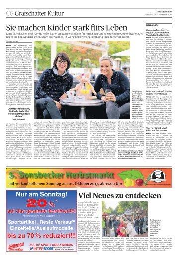 5. Sonsbecker Herbstmarkt  -29.09.2017-