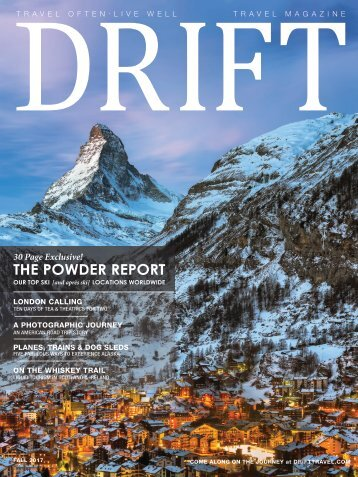 DRIFT Travel Fall 2017