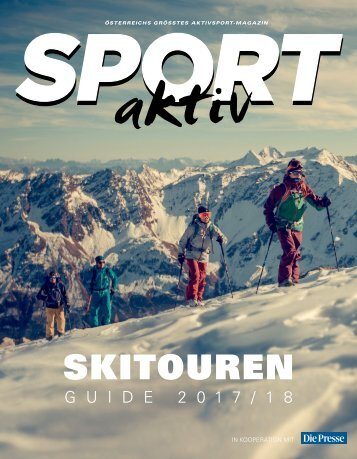 SPORTaktiv Skitourenguide 2017