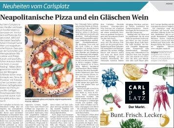Neuheiten vom Carlsplatz  -03.10.2017-
