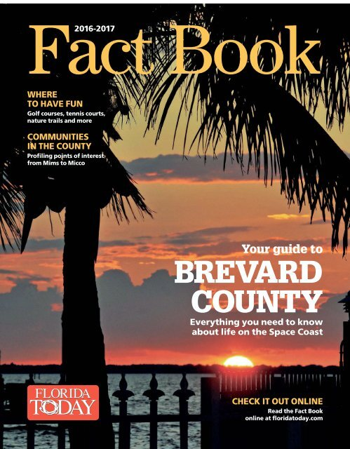 Brevard County Fact Book 2016 - 2017