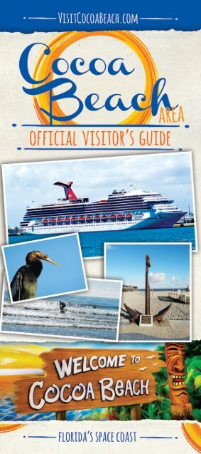 2017 Cocoa Beach Visitor's Guide