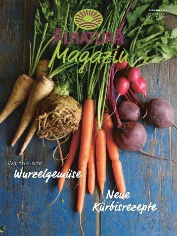 Alnatura Magazin Oktober 2017