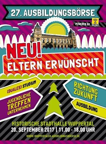 Wuppertaler Ausbildungsbörse 2017