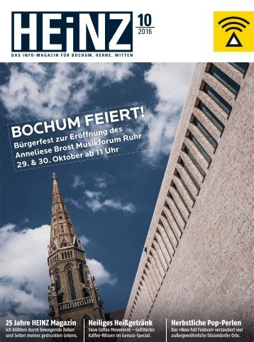 HEINZ Magazin Bochum 10-2016