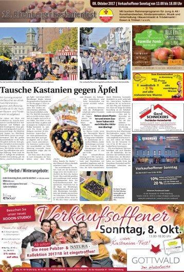 15. Rheinberger Kastanienfest  -06.10.2017-