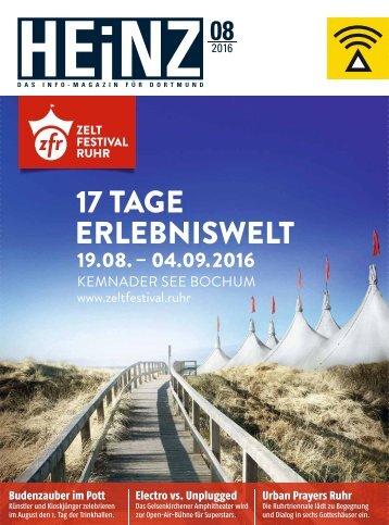 HEINZ Magazin Dortmund 08-2016